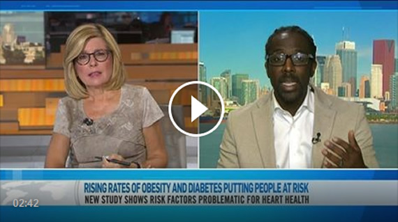 Dr. Sean Wharton, Internal Medicine Specialist talks about a new study looking at how rising diabetes and obesity rates are putting ethnic groups' heart health at risk.